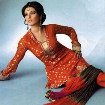 Beauty of Pakistani Evening Dresses