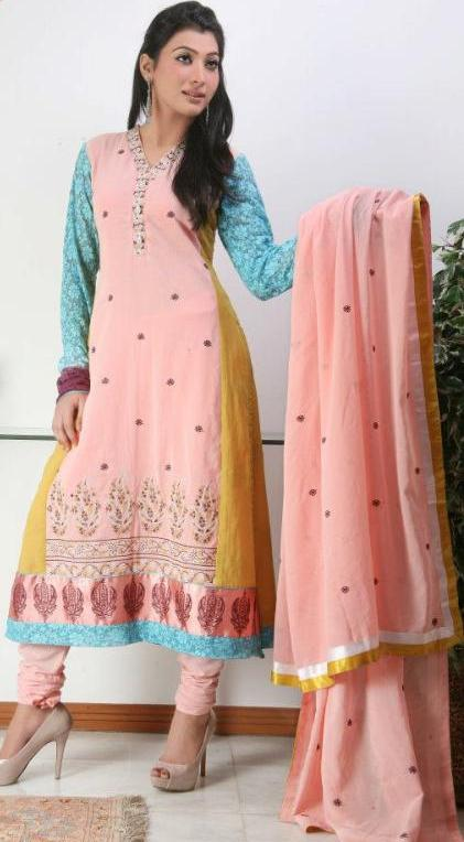 Amazing See Needle Impressions New Casual Wear Dresses 2013 For Women Here You Can See Here The Best Stunning Casual Wear Collection By One Of The Prominent Fashion Name Of Pakistan Fashion Industry Needle Impressions On Eid,