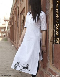 HORSE RIDER White Dresses Collection