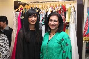 Humaa and Asiya Malik