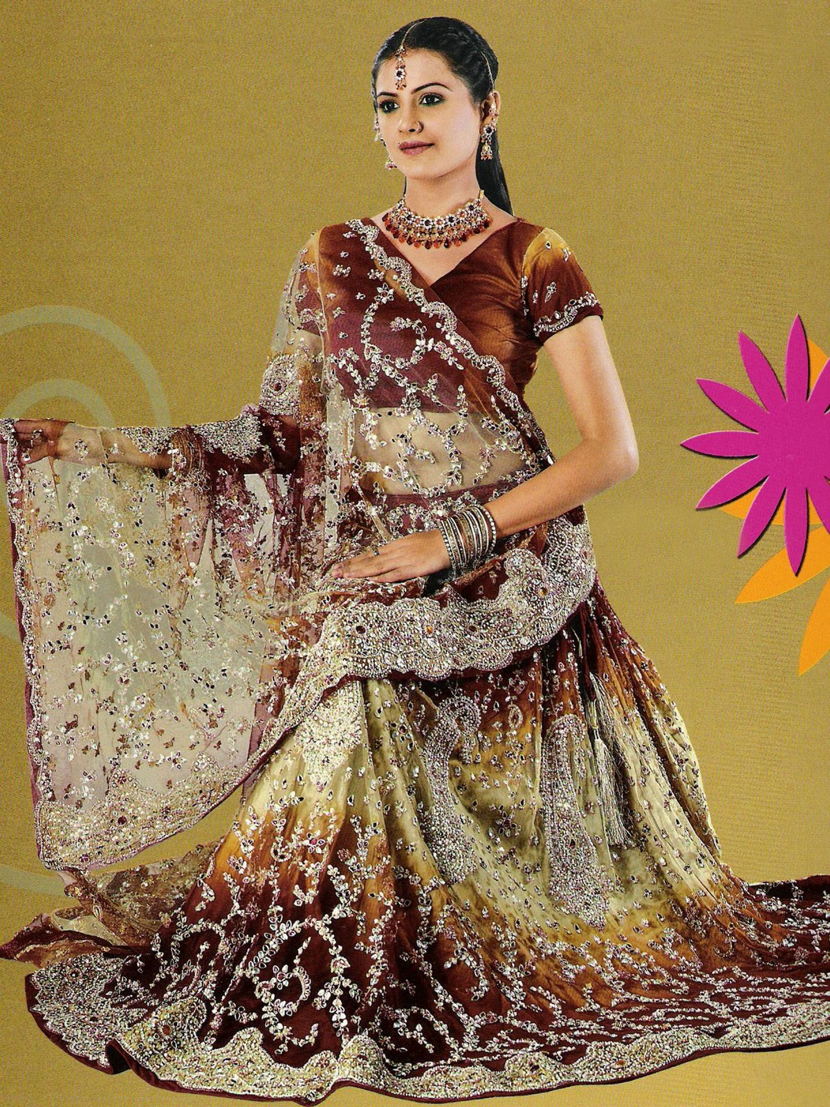 Lehenga Choli for Wedding Fashion 2017