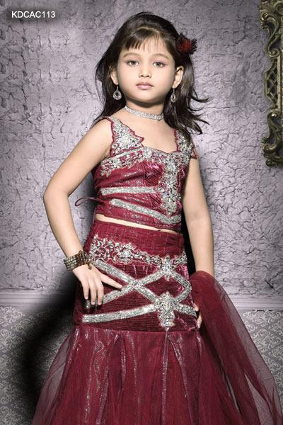 Fashion Designers Names  Kids on Lehenga Designs For Kids   Fashion