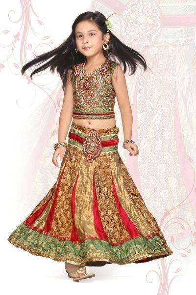Latest Fashion Trends  Kids on Lehenga For Kids   Fashion
