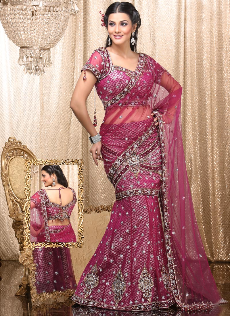 Lehenga Saree Fashion 2017