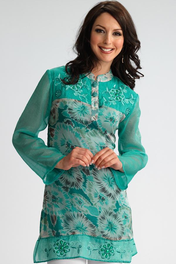 Designer kurtis with jacket