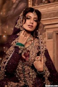 Maria B Stylish Formal Bridal Dresses 2012