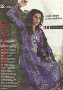 Mausummery Summer Lawn Collection 2012