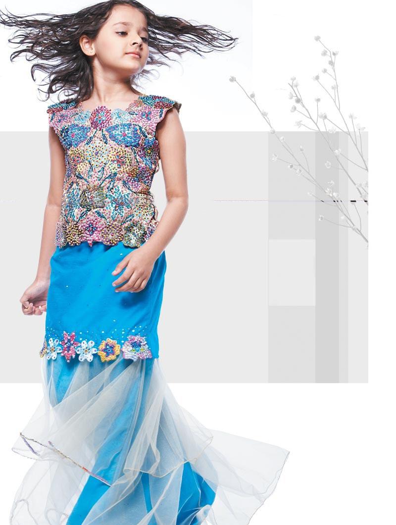7 langkah Jitu Memilih Pakaian Anak Pakistani-Kids-Dresses-07