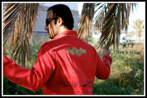 Red Kurtas Styles for Men by RT.J's