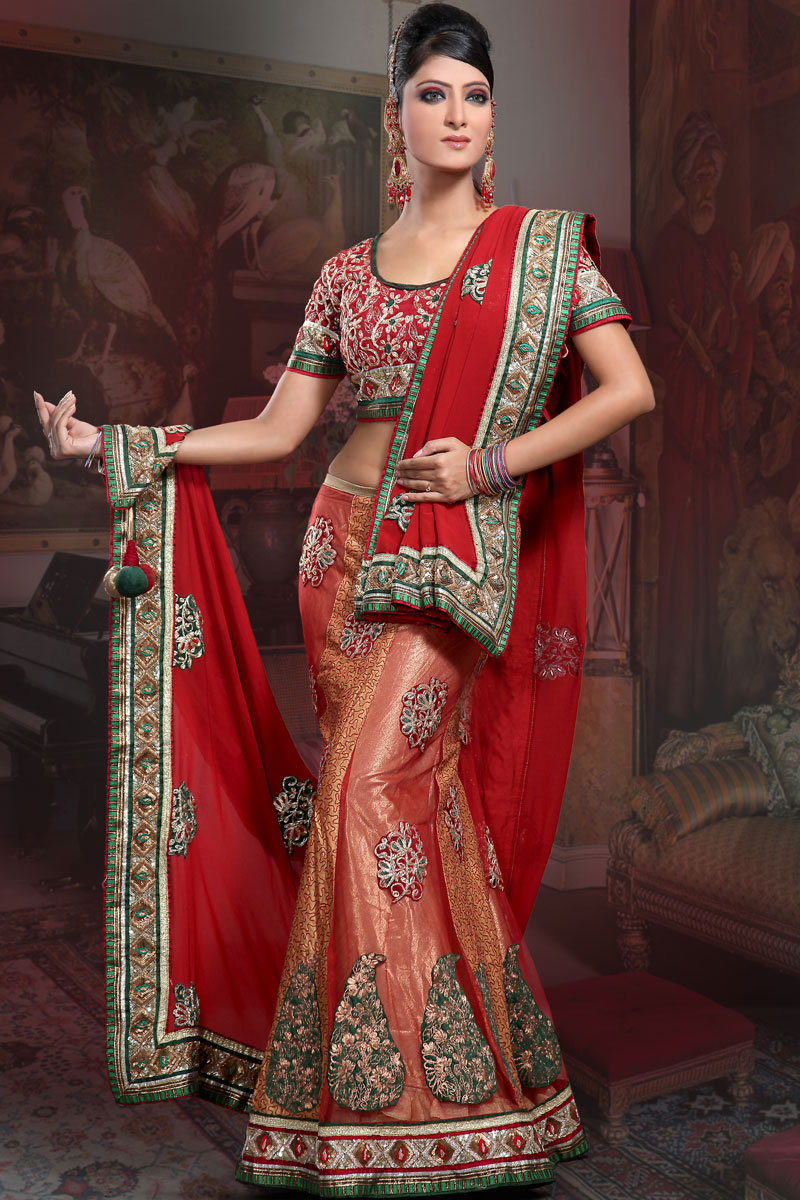 Red Lehenga Fashion 2019