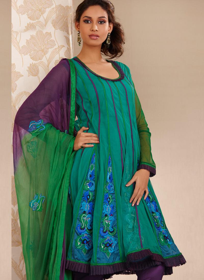 Salwar Suits Neck Designs 2014 for Wedding Photos Pics : Latest ...