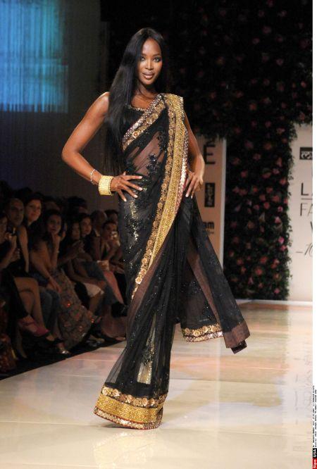 Sari Dress - Fashion 2017
