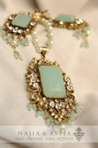 Semi Precious Jewelry by Maria B 2012