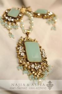 Semi Precious Jewelry by Maria B 2012