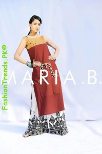 Maria B. Summer Casual Wear Collection 2012