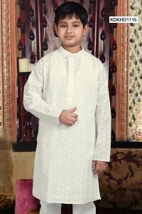 Stunning White Kurta Pyjama
