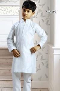 Surreal Art Dupion Kurta Pyjama