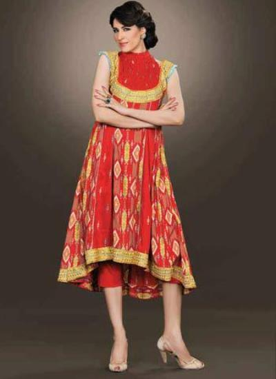 Bareeze Winter Dresses 2012