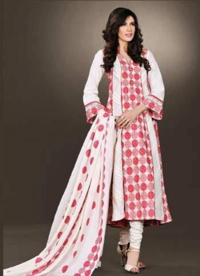 Bareeze Winter Dresses Designs 2012