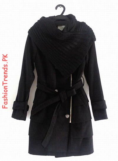 Black Fashion Trends on Black Coat   Fashion
