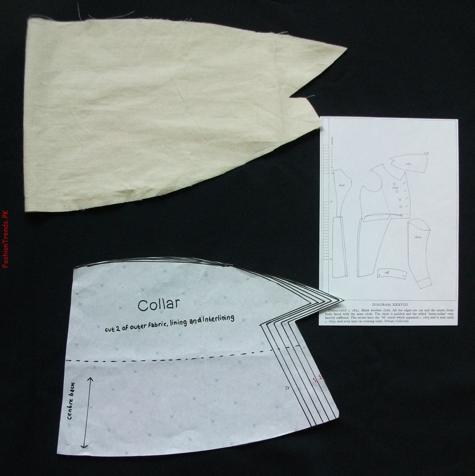 FUNNEL COLLAR SERGER COAT PATTERN - Jacket Patterns - Patterns