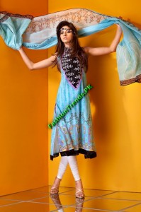 Mahnoush Summer Collection 2012 for Girls