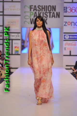 Ayesha & Somaiya Collecion at FPW 2012 Day 2