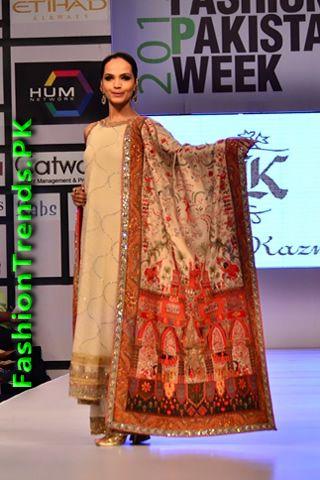 Bunto Kazmi Collection at FPW 2012