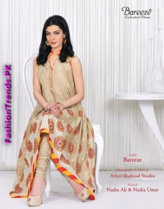Embroidered Classic Summer Collection 2012 by Bareeze