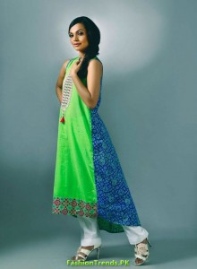 Ensemble Latest fashion Dresses for Summer 2012