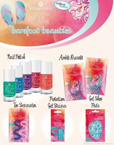 Essence Summer Collection 2012 Show Your Feet