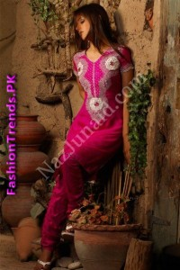 NazJunaid Party Wear Dresses 2012