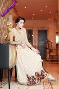 Nimsay Embroidered Chiffon Collection 2012
