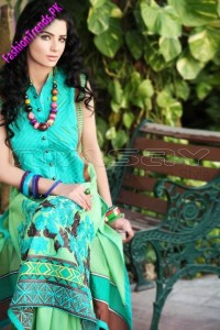 Nimsay Embroidered Lawn 2012