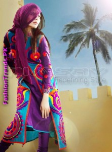 Nimsay Lawn Verve Ready to Wear for Summer 2012