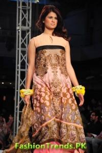 Sadia Designer Collection Sunsilk Fashion Week 2012