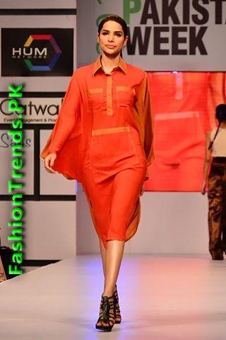 Sanam Agha at Fashion Pakistan Week 2012