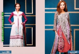 Subhata Embroidered Lawn Collection 2012