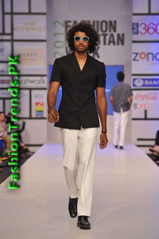Tayyab Bombal Collection at FPW 2012 Day 2