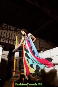 Teena latest Summer Fashion Dresses 2012 by Hina Butt