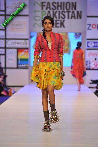 Warda Saleem Collection at FPW 2012 Day 3