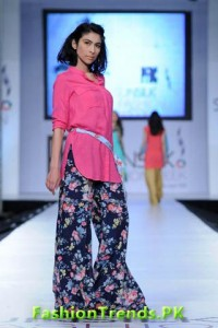 Zara Shahjahan Sunsilk Fashion Week 2012