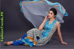 Aroshi Embroidered Swiss Voile Summer Collection 2012