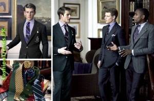 Ralph Lauren – The Repp Tie Men Collection 2012