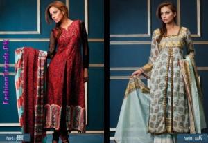 Shariq Textiles Subhata Embroidered Lawn dresses 2012