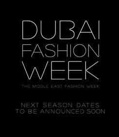 Dubai Fashion Week 2012