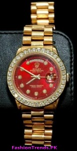 GOLD ROLEX WATCHES OF 2012