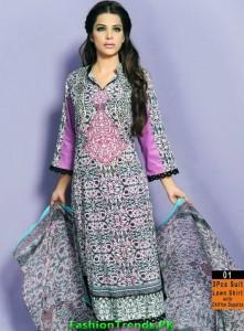 Warda Designer Mid-Summer Collection 2012