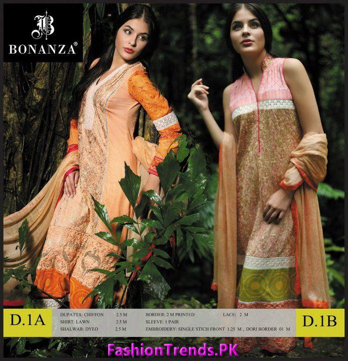 Bonanza Designer Women Series Lawn 2012