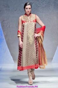 Deepak Perwani Collection in PFW London 2012